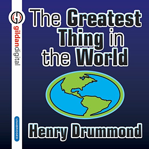 The Greatest Thing in the World cover art