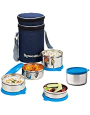 Signoraware Executive Stainless Steel Lunch Box Set