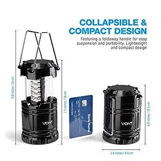 اسعار Vont 2 Pack LED Camping Lantern