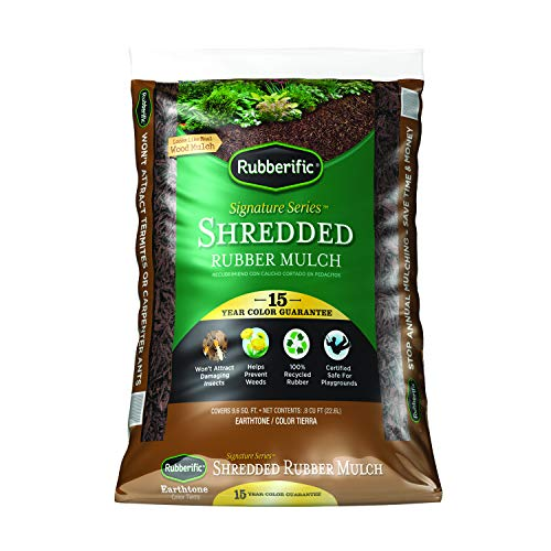 Rubberific Rubber Mulch Bagged Brown