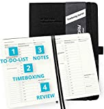 TIMEBOXING Journal by Action Day - All-in-ONE Layout Design (To-do lists,Timebox, Notes, Review) - Timeboxing is a Powerful Technique to Improve Your Productivity & Your Life, Pocket, Open Spine, 7x9