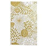 のれん 金 70X120CM 花の金飾りベクトルシームレスパターン 台所用 カーテン 半遮光 おしゃれ のれん タペストリー 森 のれん のれん アンパンマン