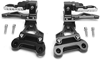 lega di alluminio EBTOOLS Pedane posteriori Modifica del motociclo per MT03 YZF-R3 2015-2016