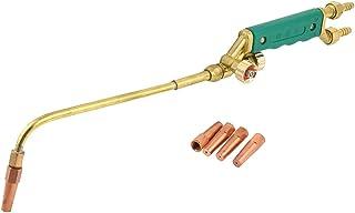Sourcingmap - Verde del tipo de inyección de plástico de soldadura de oxígeno acetileno antorcha de