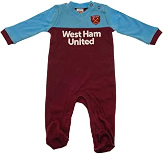 West Ham United FC Baby Unisex Sleepsuit
