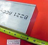 1'x 4' ALUMINUM FLAT BAR 8' long 1.000' Solid 6061 T6511 Plate Mill Stock