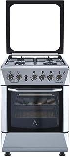 ALPHA Cocina de Gas VULCANO 3D-60 Inox, Encendido automá