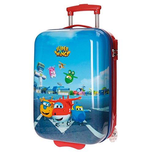 Super Wings Airport Valigia per bambini, 50 cm, 26 liters, Multicolore (Multicolor)