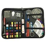 LUOEM 1 Set Kit de Costura Suministros de Costura Carretes de Hilo Regla de Hilo Botón de Bolígrafo para Viajeros Adultos Niños Principiante Emergencia