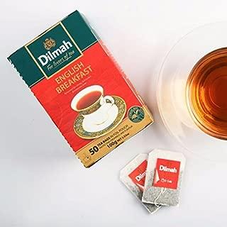Dilmah CEYLON tea ENGLISH BREAKFAST|EARL GREY|CEYLON SUPREME|ENGLISH AFTERNOON (English Breakfast)