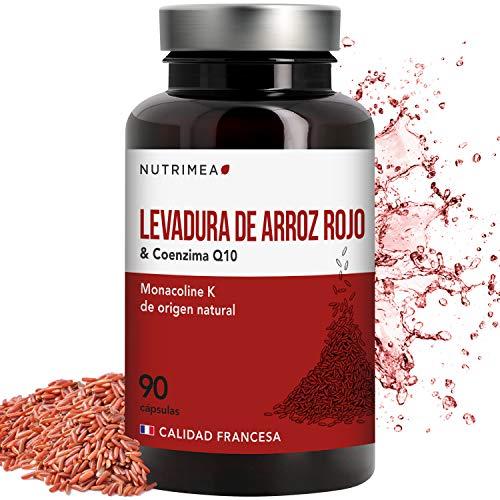 Levadura Roja de Arroz Coenzima Q10 Baja Tu Colesterol Monacolina K CoQ10...