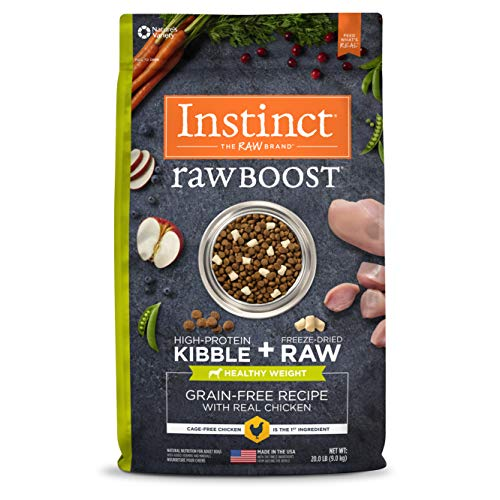 Instinct Raw Boost Healthy Weight Grain Free...