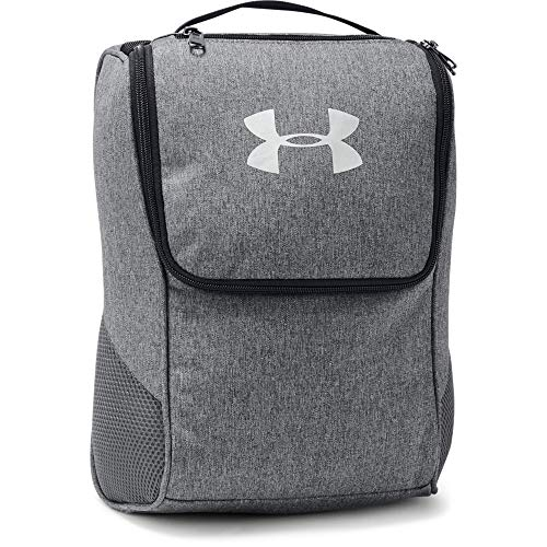 Under Armour UA Shoe Bag Bolsa De Zapatos, Bolsa De Deporte Hombre Gris (Graphite Medium Heather/Graphite/Silver 041) Talla única