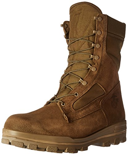 Bates Men's USMC DuraShock Hot Weather Military & Tactical Boot, Olive Mojave, 10.5 M US