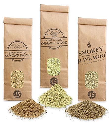 Virutas De Madera Para Ahumar Marca Smokey Olive Wood