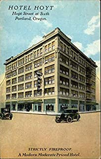 Hotel Hoyt Portland, Oregon Original Vintage Postcard
