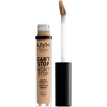 NYX PROFESSIONAL MAKEUP Can't Stop Won't Stop Contour Concealer - Medium Olive, Nude Beige With Neutral Undertone