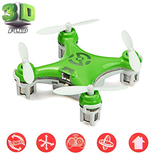 Cheerson® CX-10 Mini Drone Nano Cuadricópteros RTF - 4 Can