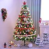 Dekoriert künstlichen Mini-Weihnachtsbaum 150cm Hoch Green Pine Innen barir