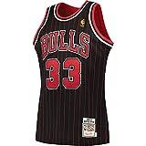 Mitchell & Ness Chicago Bulls Scottie Pippen '95-'96 Swingman Jersey (Black/Red, 2XL)