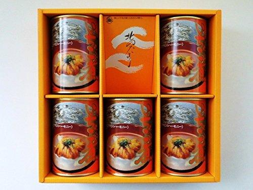 みなみや いちご煮 415g×5缶入 【ウニとアワビの潮汁】 青森県郷土料理 ご贈答用化粧箱 『北のたより』に詰めてお届け致します。