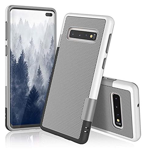 WJYD MDBH Híbrido Ultra Delgado de Tres Colores es Adecuado para Samsung Galaxy Note 10+ 9 8 Galaxy S10 S10E S10 + S9 S8 S7 S6 S10 Más S7 / S6 Borde Suave TPU Caso Protector y Caja de teléfono móvil.