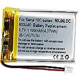 803040 3,7 v 1100 mAh batería de Iones de Litio de Repuesto para Sena...