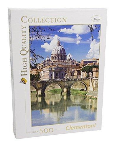 Clementoni 30344 - Puzzle Collezione High Quality Roma, 500 Pezzi