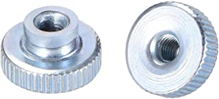 uxcell Knurled Thumb Nuts, M3 Round Knobs with, Zinc Plating, Pack of 30