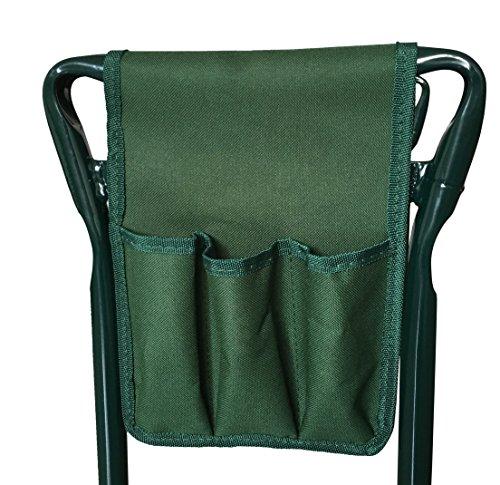 SueSport Folding Garden Bench Seat Stool Kneeler