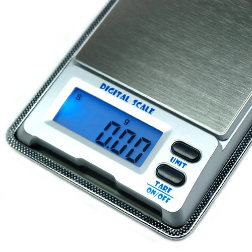500g x 0.01g Digital Pocket Scale DS-18 0.01g Precision Gold Jewelry Reloading