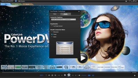 PowerDVD Power DVD 12 BD Edition Blu-ray für LG-Laufwerke