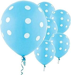"""Amscan Caribbean Polka Dots Party Balloons, 12"""", 6 Ct."""