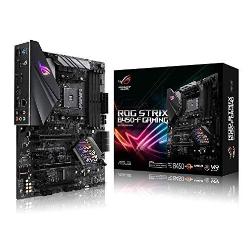 ASUS ROG STRIX B450-F GAMING - carte mère GAMING (AMD Ryzen B450 Socket AM4 ATX DDR4, Aura Sync)