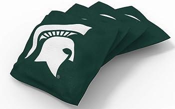 مجموعة حقيبة وايلد سبورتس NCAA College Cornhole Bean Bag (8 حزم)