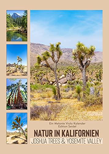 Edition Seidel & Melanie Viola Natur in Kalifornien Joshua Trees & Yosemite Valley Premium Kalender 2022 DIN A3 Wandkalender USA Amerika Nordamerika Wüste Berge National Park Natur Wandern