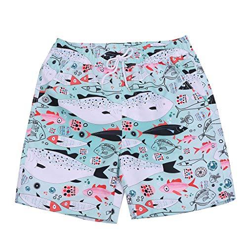 Bañadores cofortable para hombre,traje de baño transpirable de secado rápido pantalones cortos de playa ropa de baño casual moda pijama