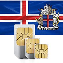 PREPAID Fast Mobile Data SIM Card for Northern Europe 3GB Valid for 60 Days to use in Denmark, Finland, Iceland, Norway and Sweden.