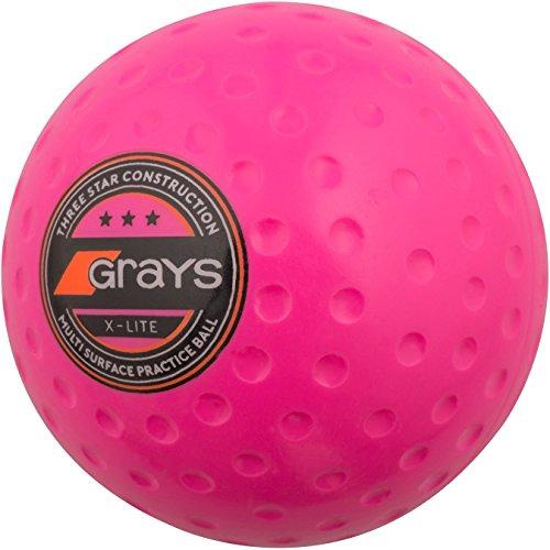 Grays Unisex X-Lite Hockeyball, Pink, Einheitsgröße