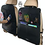 MyTravelAide Car Backseat Organizer Kick Mats (2 Pack) with...