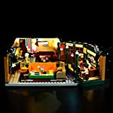 Kyglaring Led Lighting Kit for Ideas Friends Central Perk - Compatible with Lego 21319 Building Blocks Model- (Not Include The Lego Set) (Standard Version)