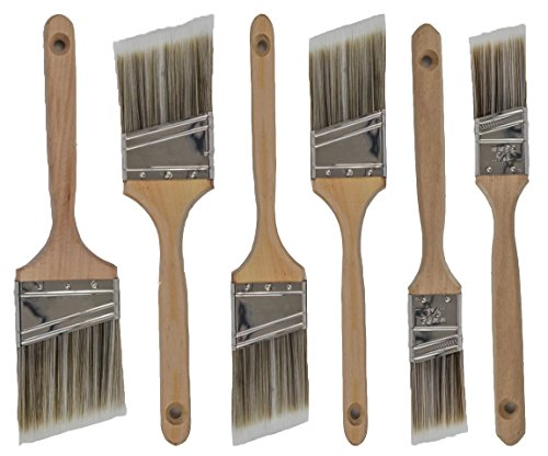 Pro Grade 6 Pack Paint Brushes
