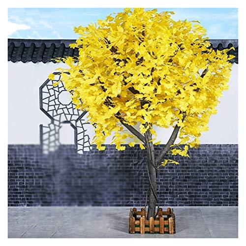 """Arbol Artificial Interior 39/59"""" Árbol de Ginkgo Artificial con Hojas Amarillas, Plantas de Faux Extensibles para la Decoración de la Oficina en el Hogar Regalo de la Casa de la Casa Plantas Artificia"""