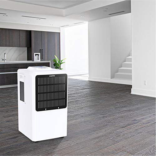 Waykar 130 Pints Commercial Dehumidifier, with Drain Hose for Home Basements Whole house Moisture Remove