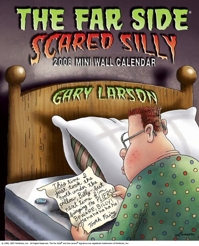 Download The Far Side ® Scared Silly: 2008 Mini Wall Calendar 0740766252