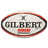 Gilbert Morgan Passe développeur Rugby Training Balle, Rouge, L