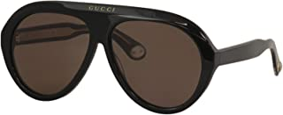 Sunglasses Gucci GG 0479 S- 001 BLACK/BROWN