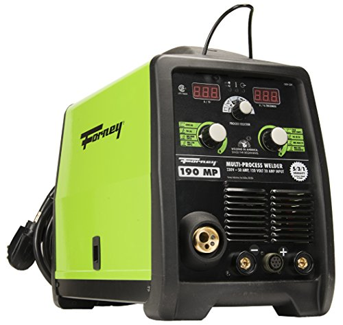 Forney 324 MIG/Stick/TIG 3-in-one 190-Amp Welder, 120/230-Volt