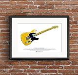 George Morgan Illustration Keith Richards' Fender