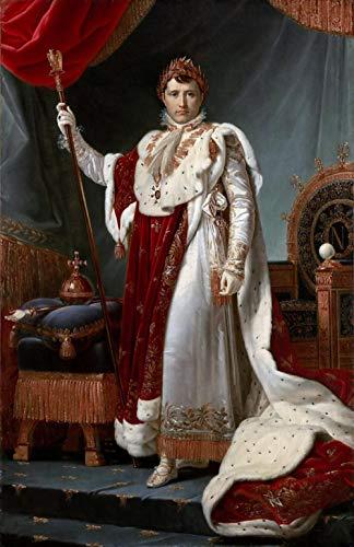 Barón François Gérard Napoleón I en coronación Robe Rompecabezas Juguete de Madera Adulto Familia Amigo DIY Challenge Decoración de Pared 1000 Piezas